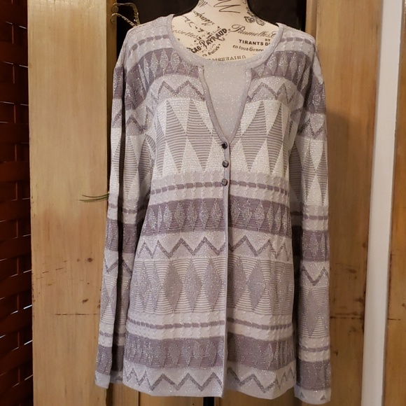 Alfred Dunner Sweaters - Sparkly sweater
